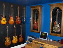 I Initially Purchased 3 Sanctuary Guitar Display Cases To Protect My Most  Treasured PRSs. My Wife Bought Me A Custom Shop Santana For Valentines, ...